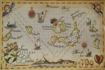 pala dan cengkeh, jalur rempah, rempah nusantara, jalur rempah nusantara, jalur rempah masa lalu, spice routes, spice routes indonesia